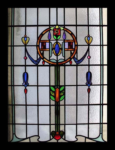 Spectacular huge victorian antique english stained glass for 1900 stained glass window