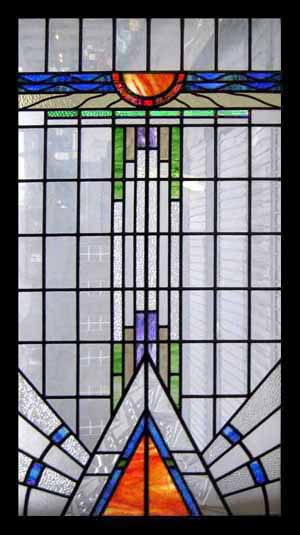 STAINED GLASS-Antique Stained Glass Windows