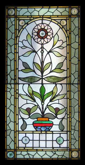 Stained glass antique stained glass windows for Victorian stained glass window film