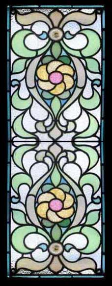 Stained Glass Window stained glass windows for homes : STAINED GLASS-ANTIQUE NOUVEAU STAINED GLASS WINDOWS DECO LEADED LIGHTS