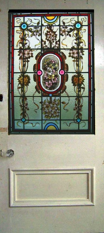 Antique Stained Glass Window, Antique Door ...