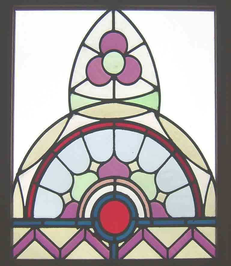 antique church window
