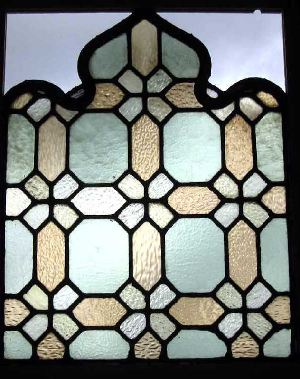 antique church delight window