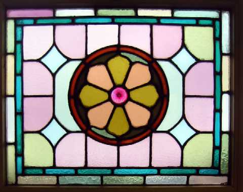 striking flower window