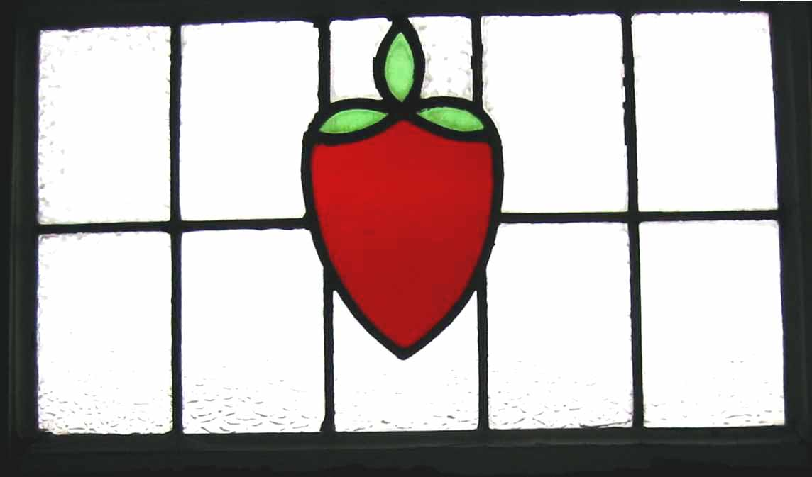 strawberry window