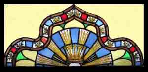 StainedGlass Window Crown Of Crowns