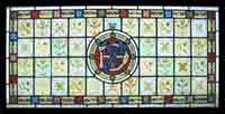 Over One Hundred Paintings In One Stained Glass Window